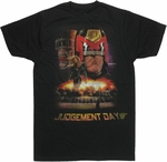 Judge Dredd Judgement Day T Shirt Sheer