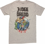 Judge Dredd Punks Next T Shirt Sheer