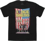Judge Dredd Take Over Black T Shirt