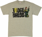 Judge Dredd Vintage T Shirt