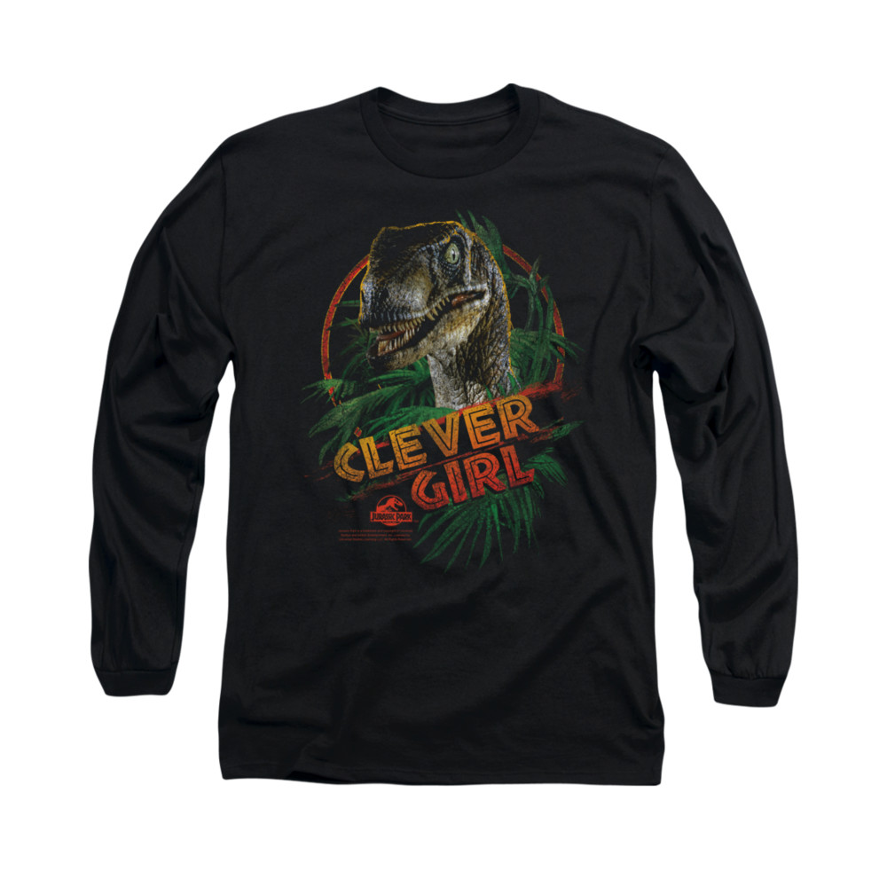 Clever Girl: Jurassic Park Clever Girl Long Sleeve T Shirt