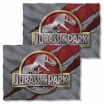 Jurassic Park Slash Logo FB Pillow Case