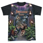 Jurassic Park Welcome BB Sublimated T Shirt
