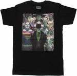 Justice League Alex Ross Villains T Shirt Sheer