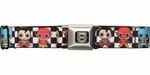 Justice League Chibi Superheroes Seatbelt Belt