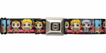 Justice League Chibi Superheroines Seatbelt Belt