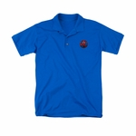 Justice League Embroidered Logo Polo Shirt