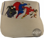 Justice League Group Youth Visor