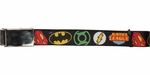 Justice League Logos Mesh Belt