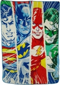 Justice League Panels Blanket