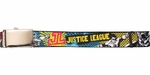 Justice League Spray Group Part Color Mesh Belt