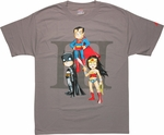 Justice League Trio Uminga T Shirt