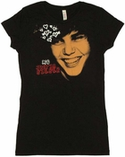 Justin Bieber Face Baby Tee