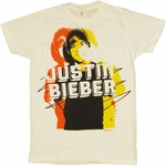Justin Bieber Name T Shirt Sheer