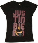 Justin Bieber Name Youth T Shirt