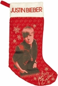 Justin Bieber Signature Stocking