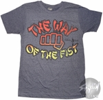 Karate Kid Way Of Fist T-Shirt Sheer