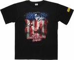Kick Ass 2 Colonel Stars and Stripes T Shirt