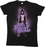 Kick Ass 2 Hit Girl Splatter Baby Tee