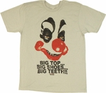 Killer Klowns from Outer Space Big Top T Shirt Sheer