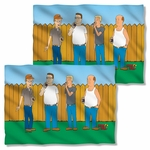 King of the Hill by the Fence FB Pillow Case
