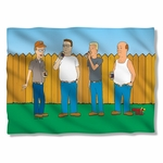 King of the Hill by the Fence Pillow Case