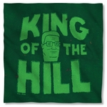 King of the Hill in Grass Bandana