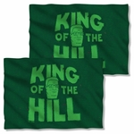 King of the Hill in Grass FB Pillow Case
