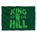 King of the Hill in Grass Pillow Case