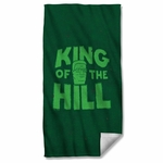 King of the Hill in Grass Towel