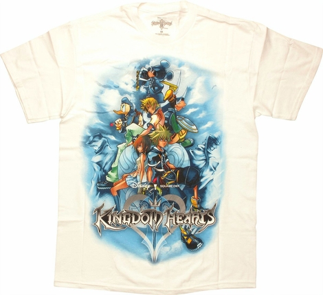 Kingdom Hearts Cover T-Shirt