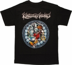 Kingdom Hearts Sora Circle Window T Shirt