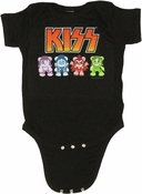 KISS Bears Snap Suit