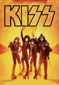 KISS Group Fabric Poster