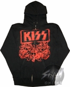 Kiss Hoodies