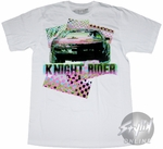 Knight Rider Car Front T-Shirt Sheer
