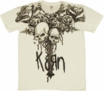Korn Skull T Shirt Sheer