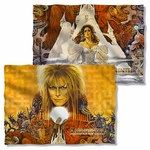 Labyrinth Crystal Ball FB Pillow Case