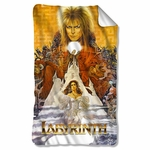 Labyrinth Crystal Ball Fleece Blanket