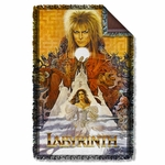 Labyrinth Crystal Ball Throw Blanket