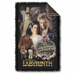 Labyrinth Only Forever Throw Blanket