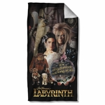 Labyrinth Only Forever Towel