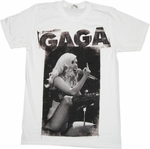 Lady Gaga Finger T Shirt Sheer