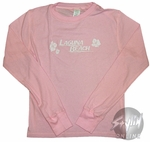 Laguna Beach Name Long Sleeve Baby Tee