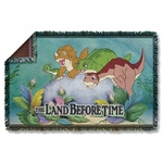 Land Before Time Littlefoot Friends Throw Blanket