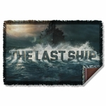 Last Ship Out to Sea Throw Blanket