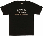 Law and Order SVU Logo T Shirt
