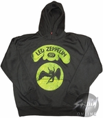 Led Zeppelin Green Angel Hoodie