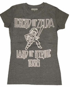 Legend of Zelda Land of Hyrule Baby Tee