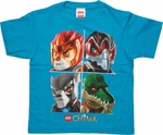 Lego Chima Four Portraits Juvenile T Shirt